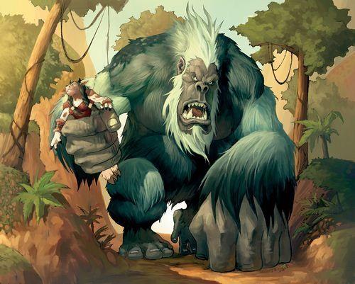 《魔兽世界》卡牌游戏人物原画欣赏