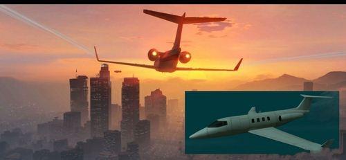 飞机非常像夏马风,这架经典的商务喷气机,曾出现在《gta:sa》,《gta3