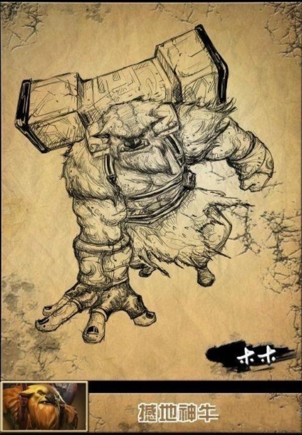 水晶室女性感登场《dota2》英雄铅笔手绘又添新作